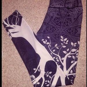 Pants - Brand New Leggings with Tree Design